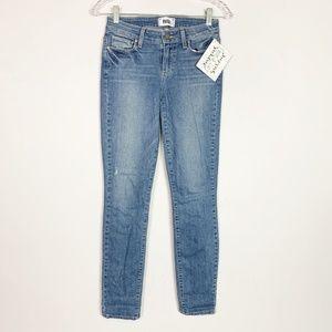PAIGE | verdugo ankle skinny jeans light wash 25
